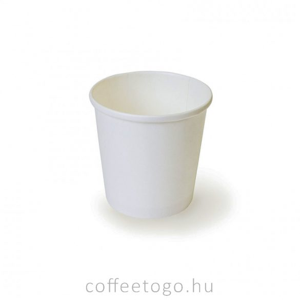 SoupToGo leveses papírpohár 500ml fehér (98mm) GRANADA