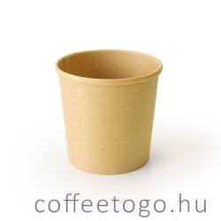 SoupToGo leveses papírpohár 500ml full kraft (98mm)
