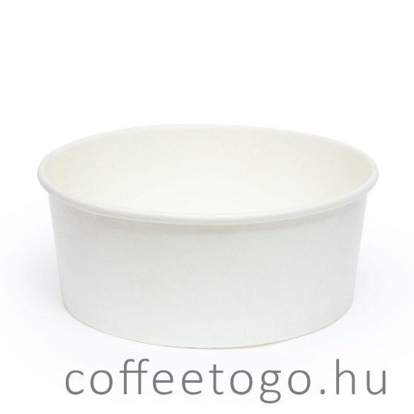 Papír salátás alj 750 ml fehér