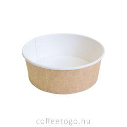 Papír salátás alj 750 ml (kraft)
