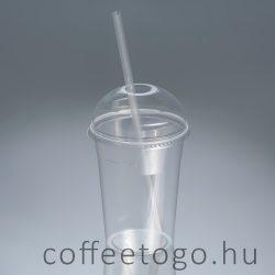 PLA Shake pohár gömb-lyukas tető (lebomló)