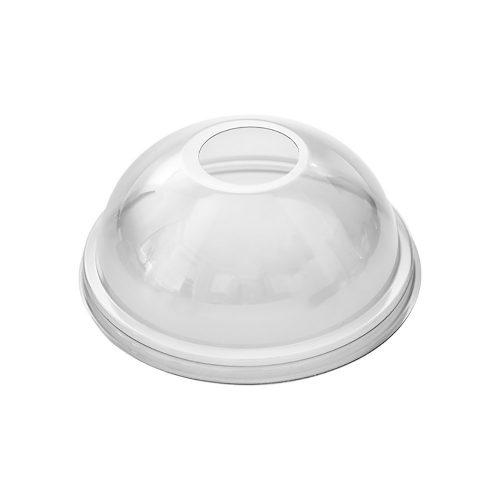 Tető shake-es pohárhoz, gömb, lyukas PET (K)