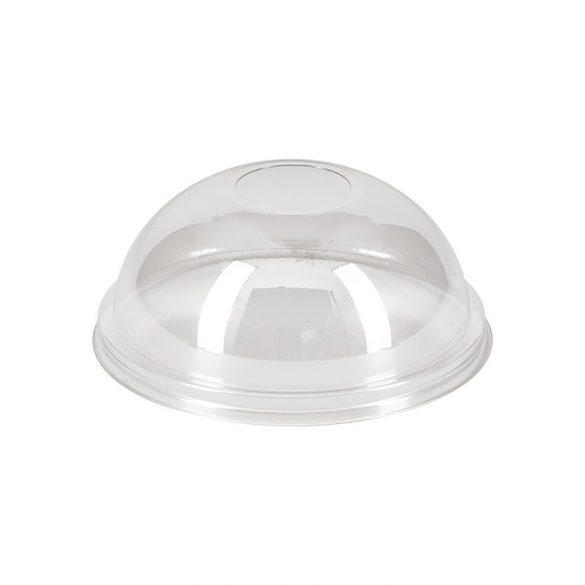 Tető shake-es pohárhoz, gömb, zárt  PET (K)