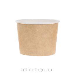 Papír salátás alj 900 ml (kraft)