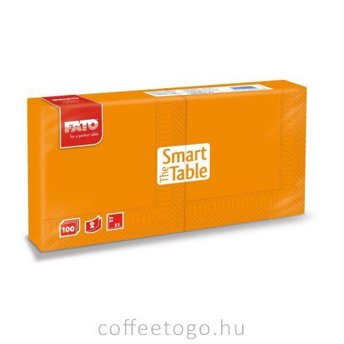 Színes szalvéta 25 x 25cm (narancs)