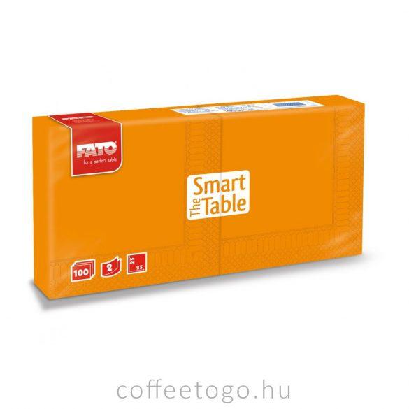 Naranccsárga szalvéta 25x25cm , 2 rétegű