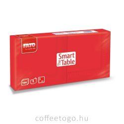 Piros szalvéta 25x25cm, 2 rétegű