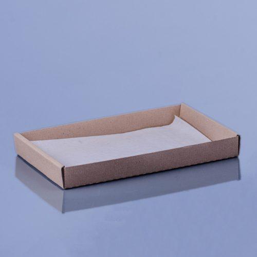 Hamburgeres peremes papírtálca 22 x 12 x 3cm (kicsi)