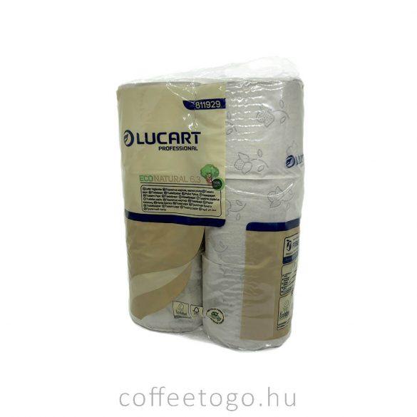 Lucart wc papír 3 rétegű (250lap/tekercs) fiberpack