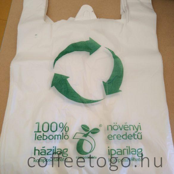 Lebomló, környezetbarát ingvállas táska 30 x 50cm