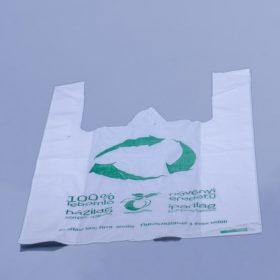 Lebomló ingvállas táska és csomagolópapír