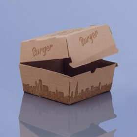 Hamburger- és burgonyás dobozok