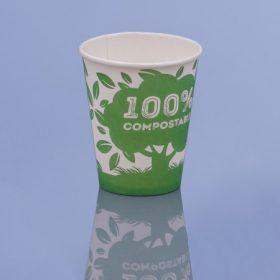 Környezetbarát (lebomló) PLA papírpohár