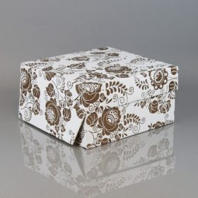 Papír süteményes dobozok