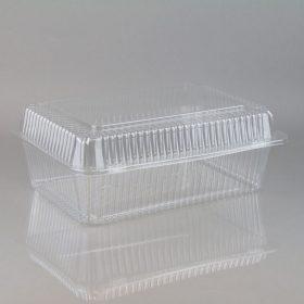 Műanyag süteményes doboz