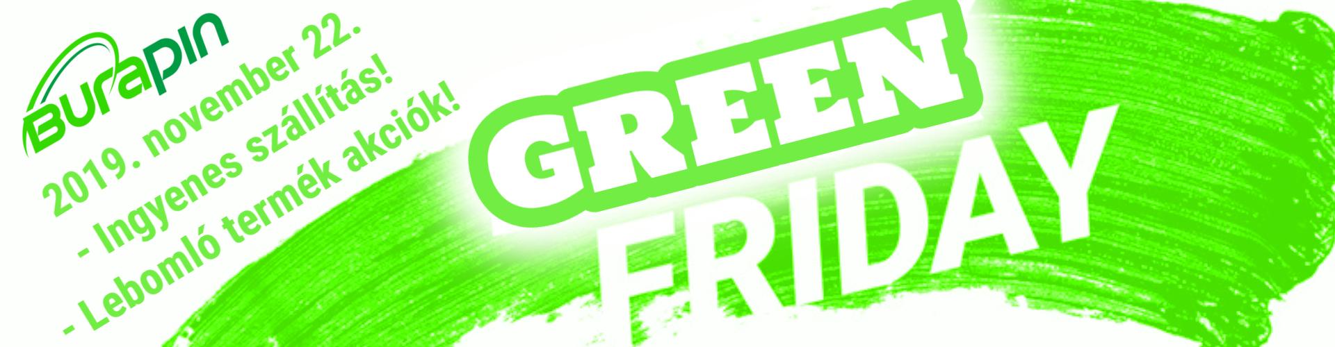 Green Friday akció