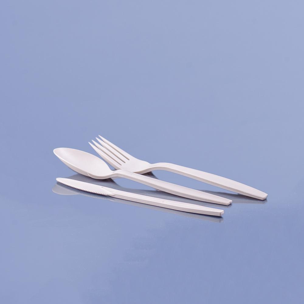 PLA komposztálható evőeszköz
